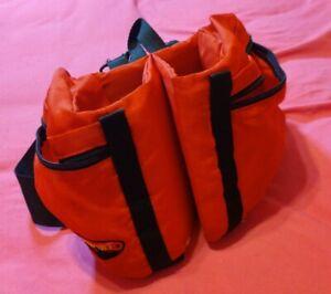 Stansport Double Bottle Fanny Pack Holder Red Adjustable