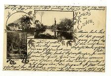 frühe AK Gruss aus Exten Hotel Kortz 1897 Niedersachsen Rinteln