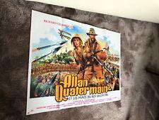 rare!!! affiche cinema originale/ allan quatermain