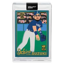 TOPPS PROJECT 2020 CARD Keith Shore #120 Ichiro Suzuki CENTERED w/ box Mariners