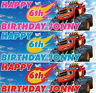 2 x personalised blaze and the monster machines birthday banner children party