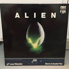"""Alien"" CBS Fox Laserdisc LD - Sigourney Weaver"