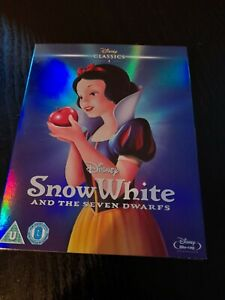 DISNEY:  SNOW WHITE AND THE SEVEN DWARFS (BLU RAY) SEALED WITH SLIP COVER