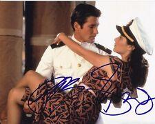 DEBRA WINGER & RICHARD GERE signed AN OFFICER AND A GENTLEMAN PAULA & ZACK photo