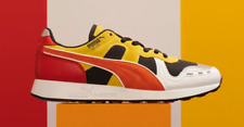 BRAND NEW Puma x Roland RS-100 Red Orange Yellow TR-808 Men's Sneakers Size 9.5