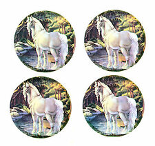 Vintage 1982 UNICORN Stickers! LOT of 4