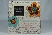 'Our Grandchild' Decorative Photo Frame Hang or Set By About Face #125776 New!