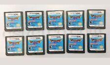 10pcs DRAGON QUEST IX Sentinels of Starry Skies Nintendo DS KIOSK DEMO wholesale