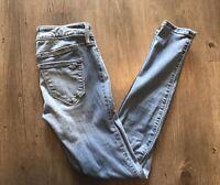 Hollister Women's ~ Super Skinny Stretch Jeans ~ Sz 1S Measures 25x26