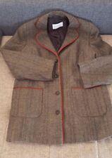 ULLA POPKEN Toller Blazer Jacke Größe 46 Braun 30%Wolle