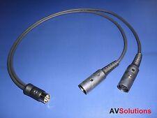 'Y' Adaptor/Splitter for Bang & Olufsen B&O BeoLab PowerLink Mk3 (1 Mtr,Black)