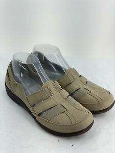 Cloudsteppers by Clarks Sillian Stork Slip On Comfort Shoe Women's Size 10 W