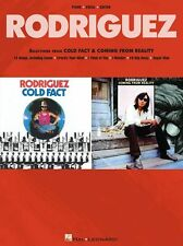 Rodriguez Cold Fact & Coming From Reality Piano Vocal Guitar PVG Music Book