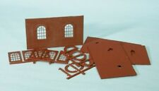 Wills SS71 Round Top Windows & Walls Pack 00 Gauge Plastic Kit - 1st Class Post