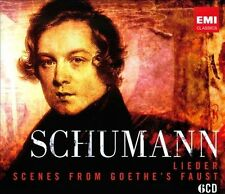 Schumann: Lieder (200th Anniv 6 CD Box Set) Scenes From Goethe's Faust Sealed!