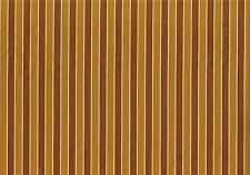 Braemore Fabric Gold Brown Stripe  Polyester Blend  Drapery Upholstery