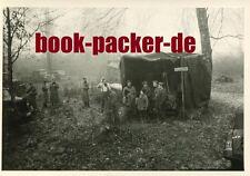 Altes Foto/Vintage photo: Zweiter Weltkrieg Polen Waldlager Korozanka 1941 #2