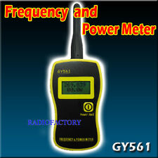 GOOIT GY561 FREQUENCY COUNTER + S21 adaptor SMA-239  for PX-888