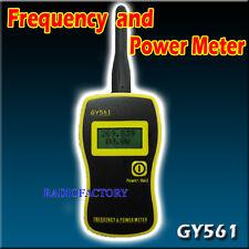 GOOIT GY561 Compteur de Fréquence + S21 Adaptateur SMA-239 pour PX-888