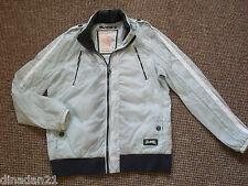 River Island men's  lightwear jacket, size L, light blue, long sleeve