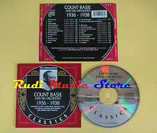CD COUNT BASIE AND ORCHESTRA 1936-1938 The chronogical 1990 france(Xs5) lp mc