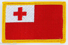 PATCH ECUSSON BRODE DRAPEAU TONGA  INSIGNE THERMOCOLLANT NEUF FLAG PATCHE