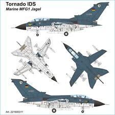 Arsenal-M HO scale PANAVIA TORNADO IDS - Naval Air Wing 1 (MFG1) Jagel kit