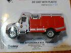 Boley HO 185-412171 2001 International Brush Fire Pumper -- red
