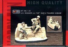"Hobby Fan 1/35 HF-596 US Ranger (II) Sniper Team ""OLF"" ISAF - 2 Figures w/Base"