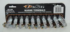 10Pcs Marine Terminal Convert Standard Post to Stud Type Terminal MADE IN USA