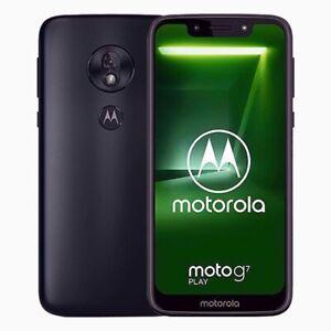"Motorola Moto G7 Play - 5.7"" - 32GB - Deep Indigo (Unlocked)"