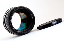 NIKON NIKKOR 85mm f2 - 1977 AI - LOVELY!