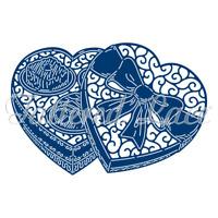 Tattered Lace TRIPLE CHOCOLATE BOX Craft Cutting Die - 440562 - FREE UK P&P