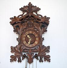 original, rare Beha cuckoo clock No 180, wooden plate movement,working very well
