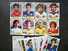 PANINI WM ITALIA 90 / 5 ORIGINAL BILDER AUSSUCHEN - PICK 5 STICKERS WORLD CUP