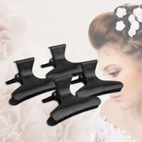 12Pcs Butterfly Plastic Hair Claw Salon Clip Clamps Hairdressers Hairdressing U