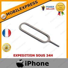 EPINGLE EXTRACTEUR TIROIR CARTE SIM POUR IPHONE EN METAL