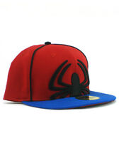 New Era Spider-Man 59fifty Custom Fitted Hat Size 7 3/8 Marvel Comics Classic
