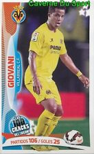 034 GIOVANI MEXICO VILLARREAL.CF STICKER 100 CRACKS DEL JUGON 2005-2014 PANINI