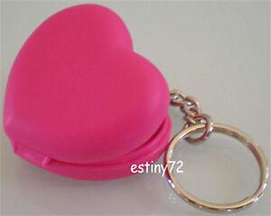 TUPPERWARE LOVE HEART KEYCHAIN / KEY RING PINK NEW RARE