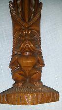 Vintage Hawaii  souvenirCOCOJOES HAWAII TIKI GOD SOUVENIR COCO JOES hawaiian