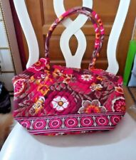 Vera Bradley Angle tote in Carnaby pattern