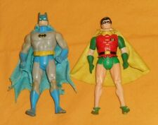 vintage Kenner SUPER POWERS BATMAN + ROBIN action figure lot