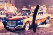 "Dean LaPole ""King Camaro"" 1972 Chevy Powered Camaro NITRO Funny Car PHOTO!"