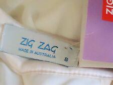 ZIG ZAG IvoryChiffonSwingMiniSz8 rrp$69NWT
