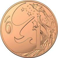 2019 1 Cent Coin 60th Anniversary of Mr Squiggle and Friends Unc . Very rare.