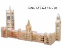 Big Ben Parliament 3D Jigsaw Wooden Model Construction Kit Toy Puzzle Gift