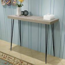 Console Table 90x30x71 5 Cm Brown #243400