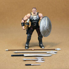 "Toy Biz Marvel Legends Ares Full Accessories BAF 7"" Action Figure Loose"