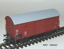 Märklin  4881 -  Gedeckter Güterwagen. #NEU in OVP#